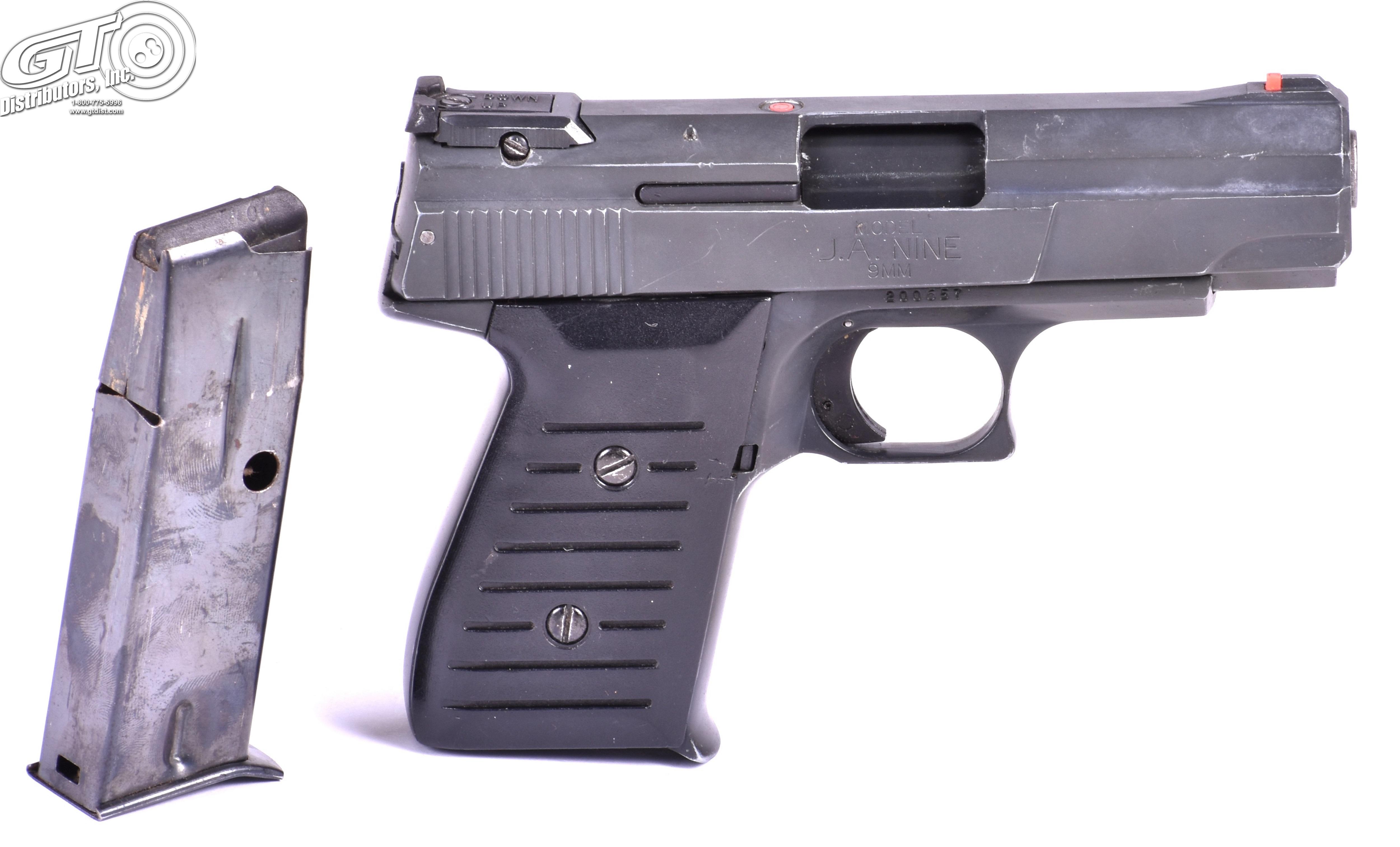 Jimenez Arms JA9 9mm - Semi Auto Pistols at GunBroker com : 803520105